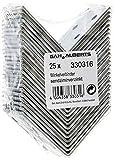 GAH-Alberts 330316 Winkelverbinder | sendzimirverzinkt | 50 x 50 x 40 mm | 25er Set