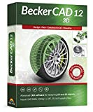 Becker CAD 12 3D - professional CAD software for 2D + 3D design and modelling - for 3 PCs - 100% compatible with AutoCAD - Windows 10, 8.1, 7
