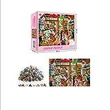 Puzzle 1000 Teile,Puzzle für Erwachsene, Runde Puzzle farbenfrohes Legespiel,Geschicklichkeitsspiel für die ganze Familie, Regenbogen Puzzle,Erwachsenenpuzzle ab 12 Jahren (4)