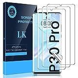 LK 3 Stück Schutzfolie kompatibel mit Huawei P30 Pro Folie, Weich TPU Displayschutzfolie mit Vollständige Abdeckung, Ultra-HD, Hüllenfreundlich, B