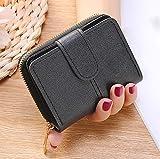 Brieftasche Damen 2021 koreanische Version kurze koreanische Version Mini-Geldbörse Damen Reißverschluss süße Geldbörse Anti-Diebstahl-Bürste Anti-Entmagnetisierungs-Multifunktions-Multi-Kartensteck