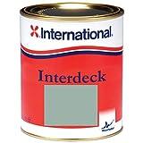 International Interdeck / Rutschfeste farbe | Grau | 750ML | Seidenglanz, für alle Ob
