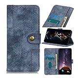 Handytasche für Motorola Moto E7 Power Handyhülle Hülle Case 3D Malen Muster Leder Tasche Cover Flipcase Silikon Schutzhülle Skin Ständer Klapphülle Schale Bumper Brieftasche Blau