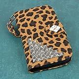 Empire MPERO Flex FLIP Wallet Case for ZTE Grand S Pro - Studded Leopard