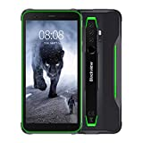 Blackview BV6300 Pro Outdoor Smartphone ohne Vertrag - Ultraslim Design 5,7 Zoll Android 10, 16MP Quad-Kamera mit Smart HDR, P70 Octa-Core 6GB/128GB, 4380mAh Akku, Dual SIM Handy - Grün