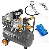 4 tgl Luftdruckkompressor 24 Liter 1100 W 8 bar Druckluft Werkstattkompressor