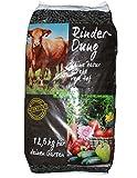 packsaus 12,5kg Quadro RinderDung gekörnter Naturdünger, Kuhmist, Rindermist, Obst und Gemüse