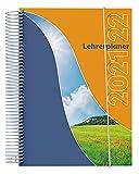 SPc Verlag - A4 Lehrerplaner/Lehrerkalender 2021/2022 - mit Spiralbindung, Klarsichtmappe und Mappengummi (A 4 Planer)