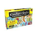 Noris 606013595 Kinder-Quiz, der Familen-Spielspaß für Zuhause oder unterwegs, für 1-6 Spieler ab 4 J
