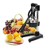 YFGQBCP Heavy Duty Handels Manuelle Handpresse Zitrus Orange Zitrone Juicer Squeezer Maschine for Orange Lemon Granatapfel for Restaurant Startseite
