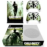 Xbox One S Call of Duty Infinite Console Skin, Decal, Vinyl, Sticker, Faceplate - Console and 2 Controllers - Protective Cover XBOX ONE S