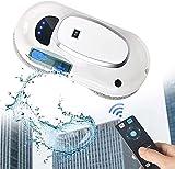 Ghongrm Fensterreiniger-Roboter mit automatischem Wasserspray, Vakuum-Adsorptionssystem, für Tabelle Hohe Windows-Decke Magnetische Automatik, Außensitze, mit Fernbedienung