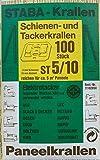 STABA Krallen 100 Stück Fugenkrallen ST 5/10 zum Schrauben oder Tackern