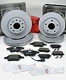 Autoparts-Online Set 60014643 Zimmermann Bremsscheiben 1ZM 1KW Coat Z Bremsen Bremsbeläge für vorne hinten