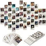 50-teiliges Filmposter, ästhetische Bilder, Wand-Collage-Set, Film-Stil, Fotosammlung, Collage, Wohnheim-Dekoration für Jugendliche und junge Erwachsene, Wanddruck-Set, kleine Poster für Zimmer
