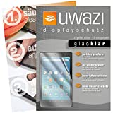 uwazi I 3X Glas-klare Schutzfolie für Amazon Fire HD 8 (Modell 2017 Displayschutzfolie I Folie I Anti Fingerabdruck I
