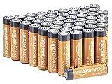 Amazon Basics AA-Alkalibatterien, leistungsstark, 1,5V, 48 Stück (Aussehen kann variieren)