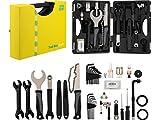 3min19sec Fahrrad Werkzeugkoffer - 38-teiliges Fahrrad Werkzeugset - Reparaturset mit Fahrradwerkzeug fürs MTB, Rennrad und City Bike | Fahrrad Werkzeug Set | Fahrradwerkzeugset Profi | Bike Tool Set