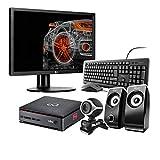 Fujitsu Esprimo Q920 Intel Core i5 – SSD 240 GB – RAM 8 GB – Monitor 24 Zoll – Web Cam – Lautsprecher – Windows 10 Pro Business Desktop Computer Mini PC (generalüberholt)