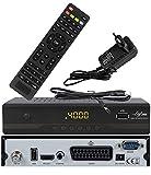 Leyf 2909 New Model Sat Receiver Digitaler Satelliten Receiver- (HDTV, DVB-S /DVB-S2, HDMI, SCART , 2X USB , Full HD 1080p ) [Vorprogrammiert für Astra, Hotbird und Türksat] + HDMI Kabel