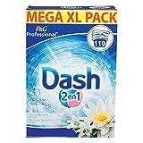 Dash 2 In 1 Lotus Flower Und Lily Waschpulver - Xl Pack - 110 Waschungen, 7672 g