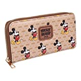 CERDÁ LIFE'S LITTLE MOMENTS Kartenetui mit Mickey-Maus-Motiv, offizielles Disney-Lizenzprodukt