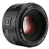 Yongnuo 50 mm F1.8 Objektiv Großer Autofokus Objektiv für Canon EF EOS Kamera