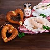 WURSTBARON® Weißwurst Set bestehend aus Breze, Weißwurst & Senf, schmackhaftes Geschenk, Qualität aus Bayern