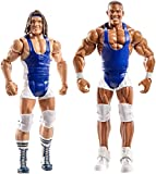 Mattel DXG43 WWE American Alpha 15 cm Basis Figuren 2er-Pack, Spielzeug Actionfiguren ab 6 Jahren