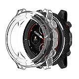 LvBu Schutzhülle kompatibel Für Amazfit Stratos 3, All-Around Case Ultra dünn TPU Schutz Hülle für Amazfit Stratos 3 Smartwatch (Clear)