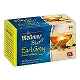 Meßmer Bio Earl Grey Schwarzer Tee mit Bergamotte Aroma frisch