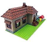 Bausteine Haus, Bungalow, 293 Klemmbausteine, Konstruktionsspielzeug