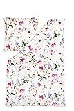 Estella Interlock Jersey Bettwäsche Aimee Größe 135x200+80x80 cm Farbe Fuchsia