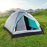 Campingzelt, Igluzelt, Zelt, Kuppelzelt für 2 Personen