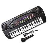 Tobar Lizzy® Elektronische Tastatur und Karaoke-Mikrofon fü