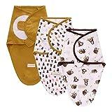 3er Baby Pucktücher Pucktuch Pucksack Baumwolle für Neugebore Mädchen Junge 0-3 3-6 Monate