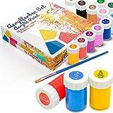 Tritart Acryl-Farben-Set für Kinder und Erwachsene   15er Acryl Farbset