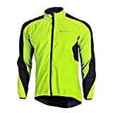 Fitsund Fahrradjacke Herren Winddicht Radjacke Thermo Langarm Mountainbike Jacket Fleece L