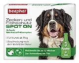Zecken- und Flohschutz SPOT ON für Hunde über 15 kg
