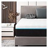 YRRA Memory-Foam-Matratze in einer Box, 30,5 cm, Premium-Bett-Matratze mit CertiPUR-US Schaum für stützende Druckentlastung und kühleres Schlafen, 10 Jahre Unterstützung