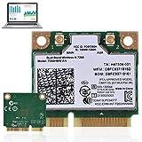 Oumij Bluetooth 4.0 Dual Band Wireless WiFi Karte IEEE Standards Based 802.11a/b/g/n Adapter Unterstützte Betriebssysteme: Win7, Win8, Win10, Linux Intel 7260AN 7260HMW Mini PCI-E