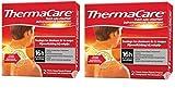 ThermaCare selbstheizendes Patch, für Nacken, Schulter und Handgelenk, lindert Nackenschmerzen, 8 Stunden konstante Wärme, 2 Stück