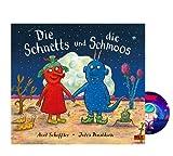 Die Schnetts und die Schmoos: Vierfarbiges Bilderbuch ab 4 Jahren + Weltraum-Sticker