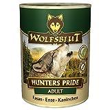 Wolfsblut | Hunters Pride | 6 x 395 g | Fasan, Ente und Kaninchen | Nassfutter | Hundefutter | Getreidefrei