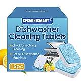 Spülmaschinen Reiniger,Spülmaschinenreinigung,entfernt Rückstände, Fett und unangenehme Gerüche, ALL in Premium Spülmaschinentabs
