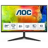 AOC 24B1H - 24 Zoll FHD Monitor (1920x1080, 60 Hz, VGA, HDMI) schwarz
