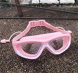RongWang Farbe Kinderschwimmbrille Antibeschlag-Schwimmbrille Kinder Surfbrille Jungen Und Mädchen Reduzieren Blendung (Color : C)