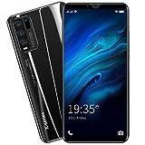 Sim-freie und entsperrte Mobiltelefone, Android GO 3G, schönes Smartphone mit 12,7 cm (5 Zoll) HD-IPS-Display, 2500 mAh großer Akku, Dual-SIM Dual-Kameras und langlebige Handys (Y50-Schwarz)