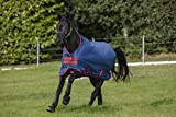 Horseware Amigo Mio Turnout lite Dark Blue red Weidedecke Regendecke (145)