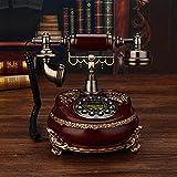 TAIDENG Altmodisches Telefon europäischer Stil Dekoration antike Telefon Wohnzimmer Retro Telefon Home Telefon festes zifferblatt Feste zifferblatt-20x25x24